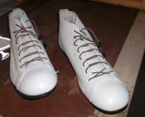Hay zapatos especiales para pedalear